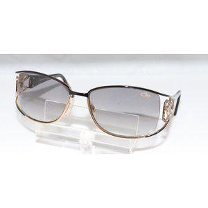 New Women's Cazal Black & Gold Sunglasses